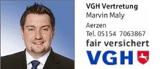 VGH Versicherungen Marvin Maly